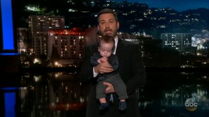 Jimmy Kimmel With Baby